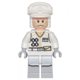 Lego Star Wars Hoth Rebel Trooper White Uniform 3, No Backpack sw765™