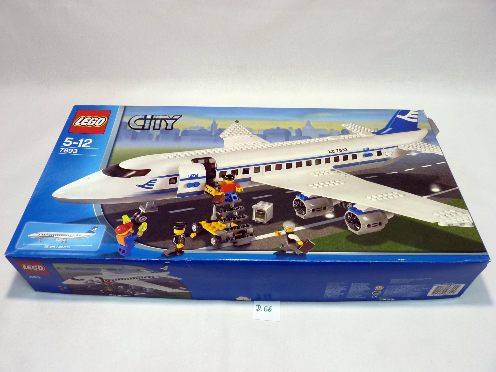 Lego City DobozKockafalu Csak Üres 7893 8nwOvm0yNP