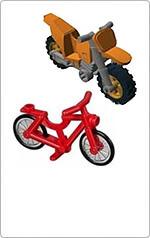 Motorkerékpár, kerékpár