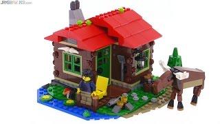 Lego Creator 31048 - Tóparti Házikó bemutató videó
