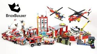 Az összes 2016-os Lego City Tűzoltós készletet bemutató videó